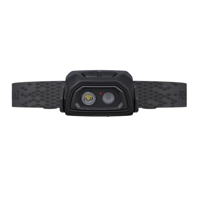 Forclaz Lampe Frontale Rechargeable Usb Trekking Trek500 Noire 200