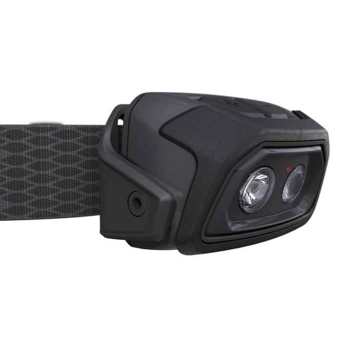 Rechargeable Trekking Head Torch - TREK 500 USB - 200 lumens - Black