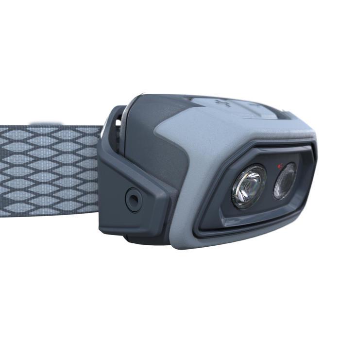 Linterna Frontal Montaña Trekking Forclaz Recargable TREK500 Azul 200 lúmenes