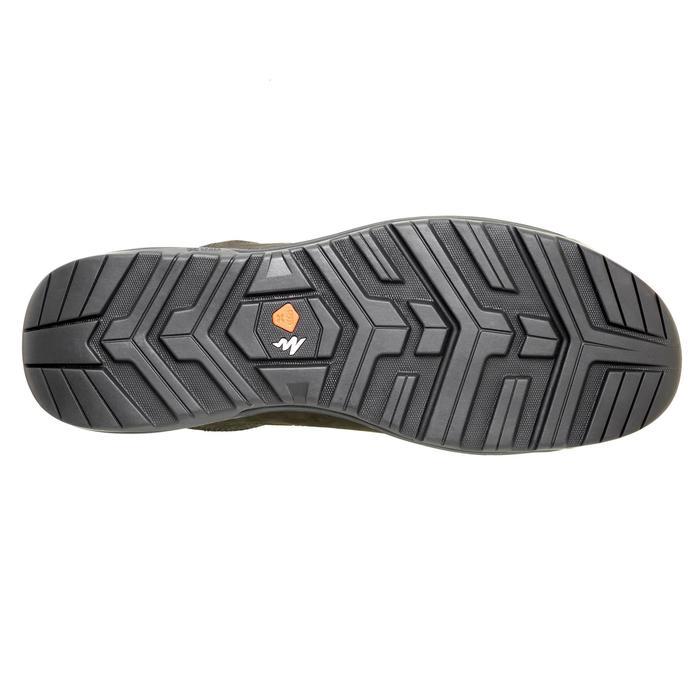 Wandelschoenen voor heren NH500 bruin zwart