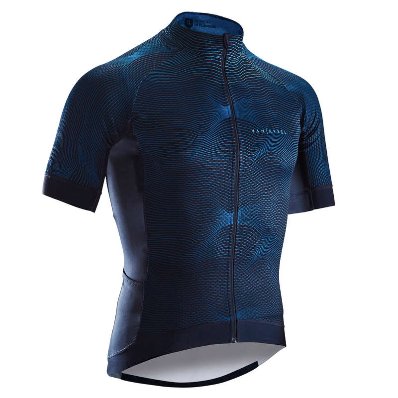 MEN WARM WEATHER ROAD RACING APPAREL Cycling - RR 900 Short Sleeve Cycling Jersey - Turquoise VAN RYSEL - Cycling