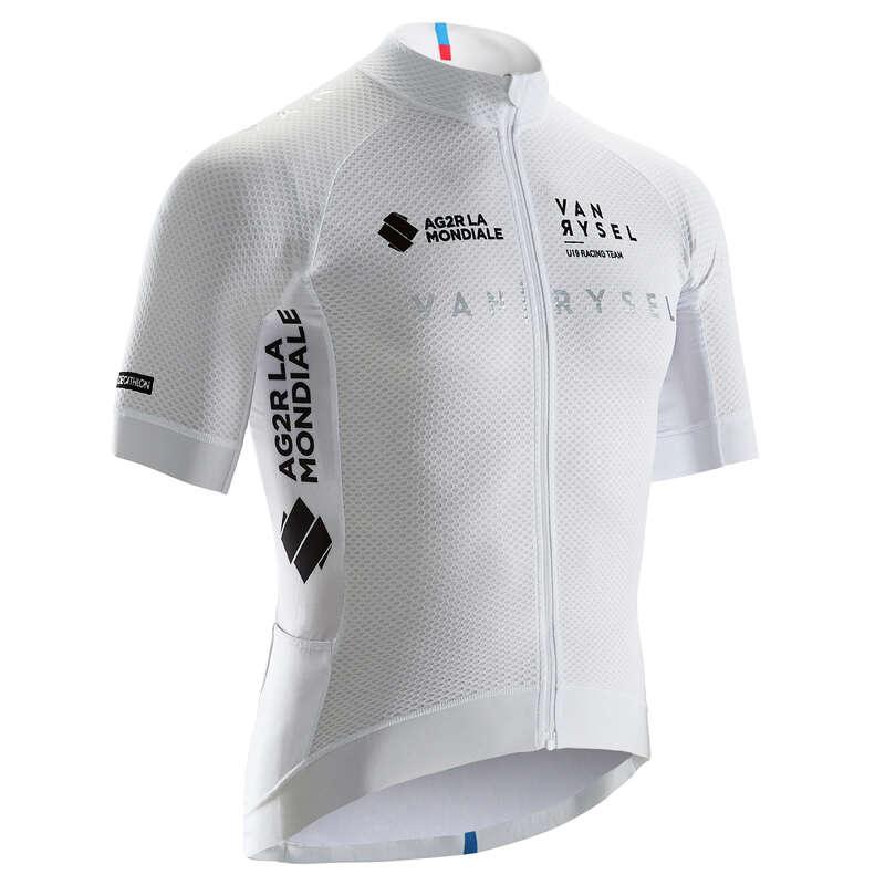 ABB.TO BICI CORSA PERF TEMPO CALDO UOMO Ciclismo, Bici - Maglia ciclismo uomo bianca VAN RYSEL - ABBIGLIAMENTO UOMO E DONNA