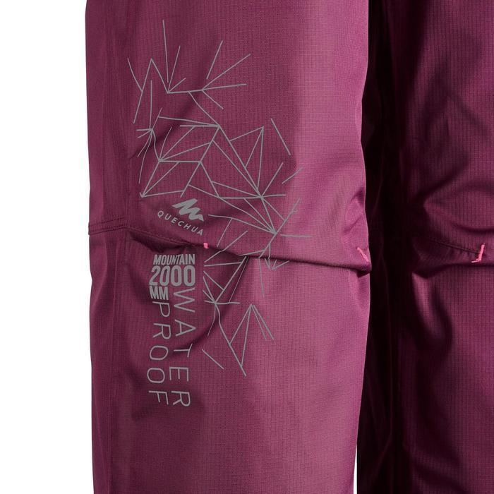 Sur pantalon de randonnée enfant MH500 Prune