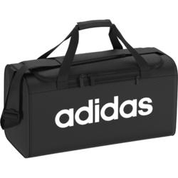 Sporttas fitness Adidas 25 liter, zwart/wit