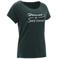 Women's Organic-Cotton Gentle Yoga T-Shirt - Green