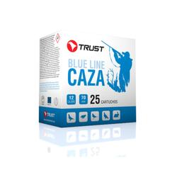 Cartucho Caza Trust 1/30gr, cal 12/70 x 25