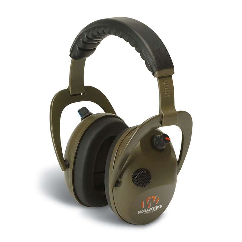 HEARING PROTECTION/GLASSES Shooting and Hunting - WALKER ALPHA MUFF EAR DEFENDER ALVIS - Clay Pigeon Shooting