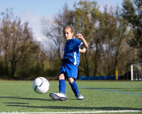 inscrire ma fille au football