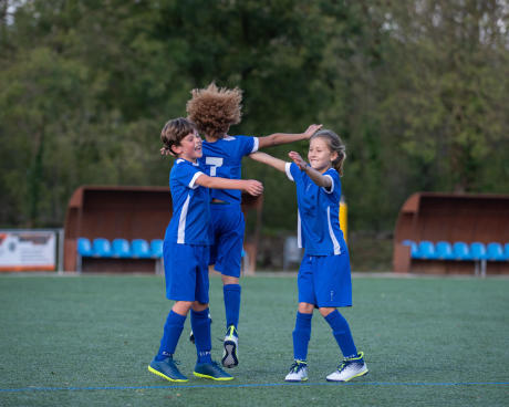 les filles et le football