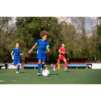 F500 Junior Football Shorts Red