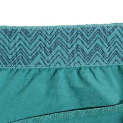 Klimbroek voor dames stretch blauwgrijs