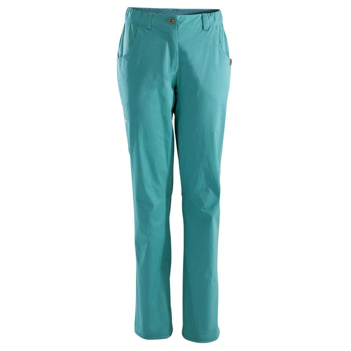 Comfortabele klimbroek voor dames Cliff blauw grijs