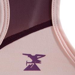Camiseta Escalada Niña Pastel Ciruela Tirantes