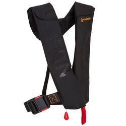成人款充氣式救生衣LJ 150N AIR-黑色