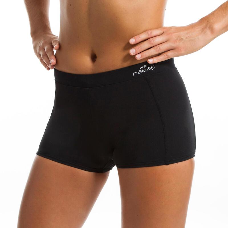 Women's Aquafitness Shorty Swimsuit Bottoms Anny - Black