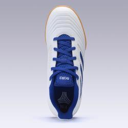 Hallenschuhe Futsal Fußball Predator Tango 4 FS19 Kinder weiß/blau