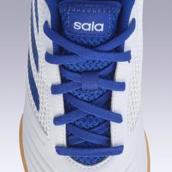 Chaussures de Futsal PREDATOR TANGO 4 enfant PE19 blanc bleu