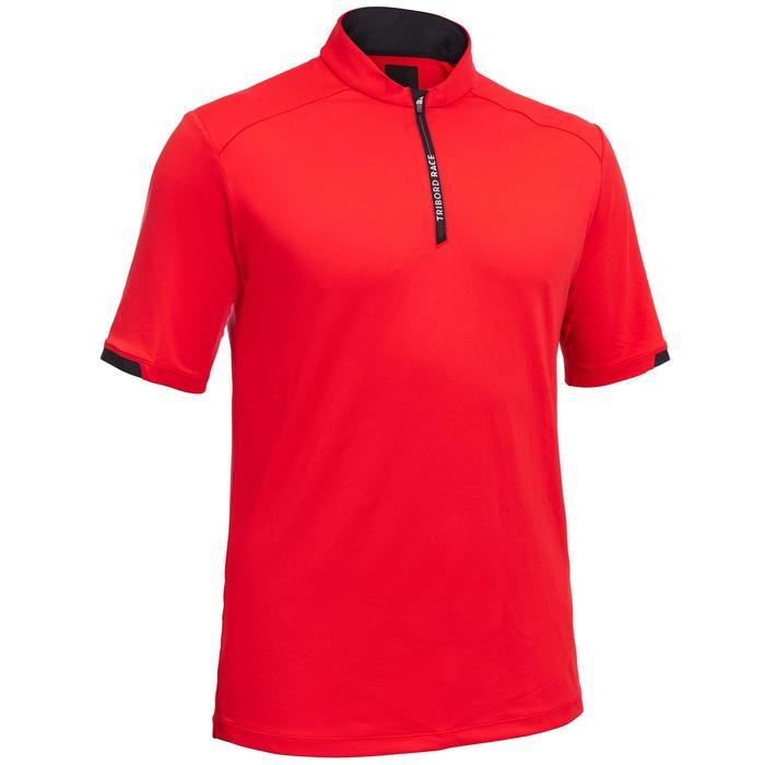 Boat regatta racing men's T-shirts Race red