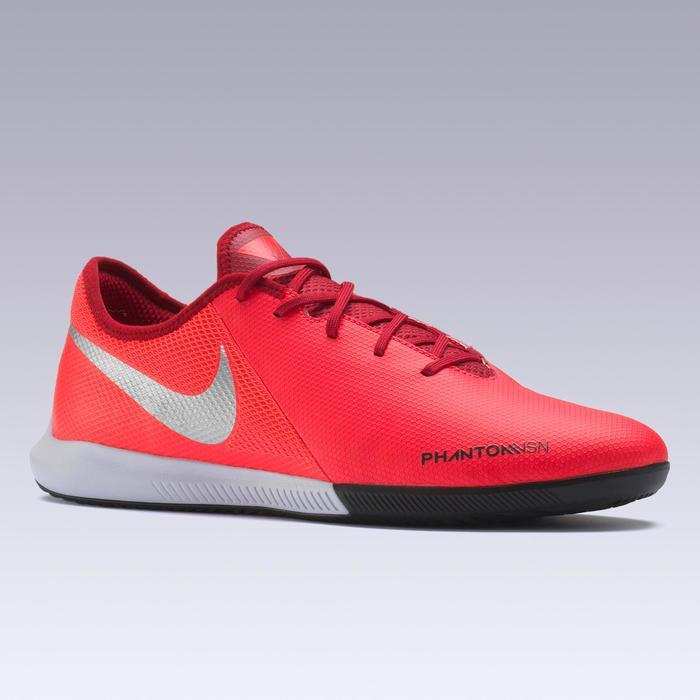 Hallenschuhe Futsal Fußball Phantom Vision Gato FS19 Erwachsene silberrot