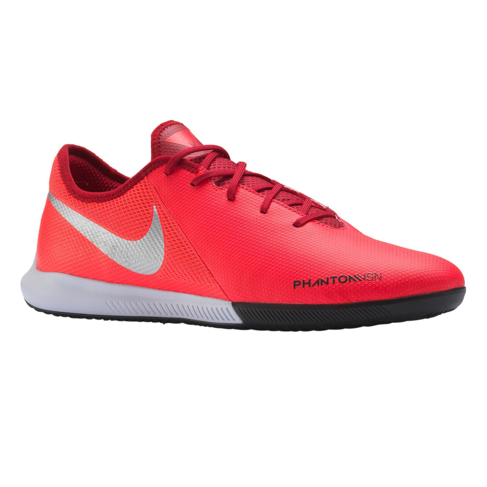 Nike Zaalvoetbalschoenen Phantom VSN Academy Game Over rood/zilverkleurig