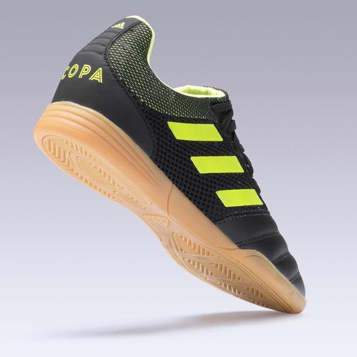 f783d43c90df7 Zapatillas de fútbol sala COPA júnior 19.3 negro y amarillo Adidas ...