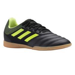 Zapatillas de Fútbol Sala Adidas Copa 3 niños negro amarillo