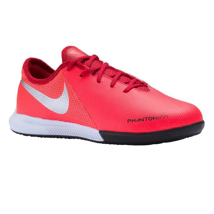Chaussures de Futsal PHANTOM VISION Academy GATO enfant PE19 rouge argenté