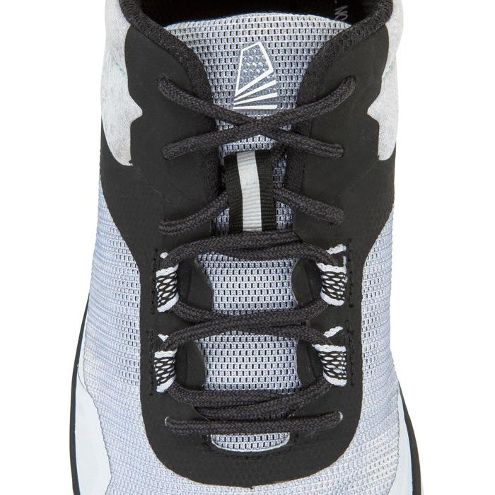 Bootschoenen voor wedstrijdzeilen uniseks grijs/zwart