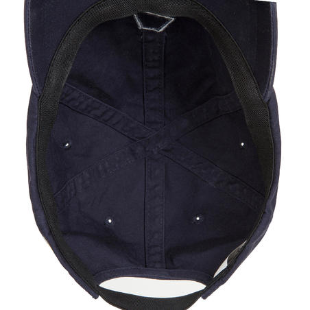 Adult sailing cap SAILING 100 - Navy