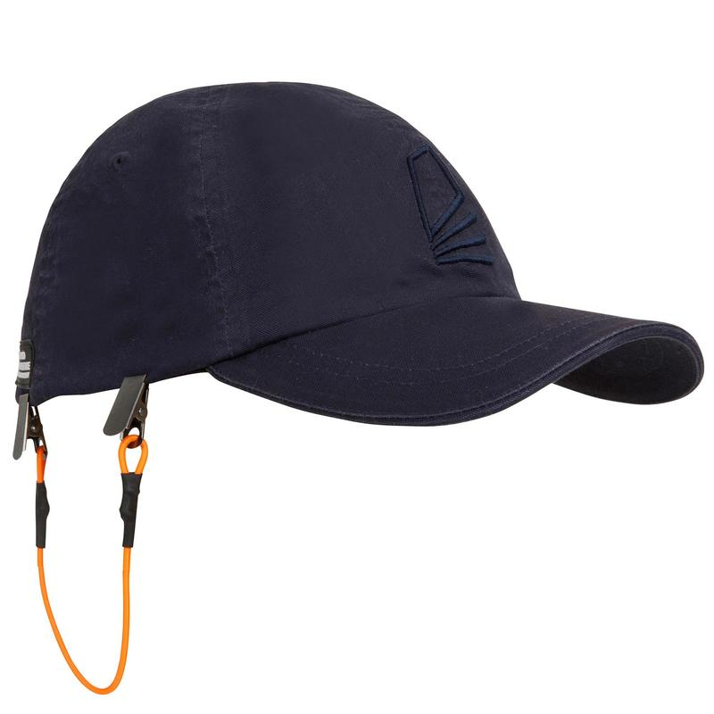 Adult sailing cap SAILING 100 - Navy