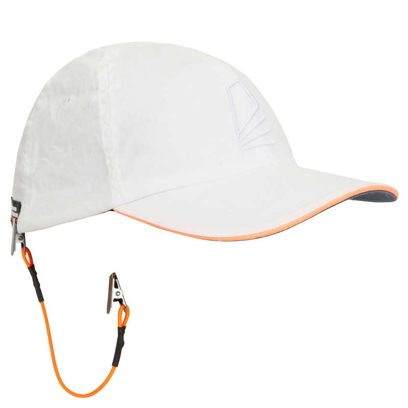 SAILOR ACCESSORIES Dinghy Sailing - A Cap Sailing 100 - White TRIBORD - Dinghy Sailing