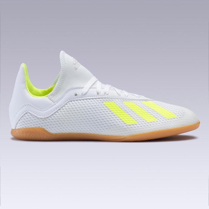 Zaalvoetbalschoenen voor kinderen X Tango 19.3 geel wit