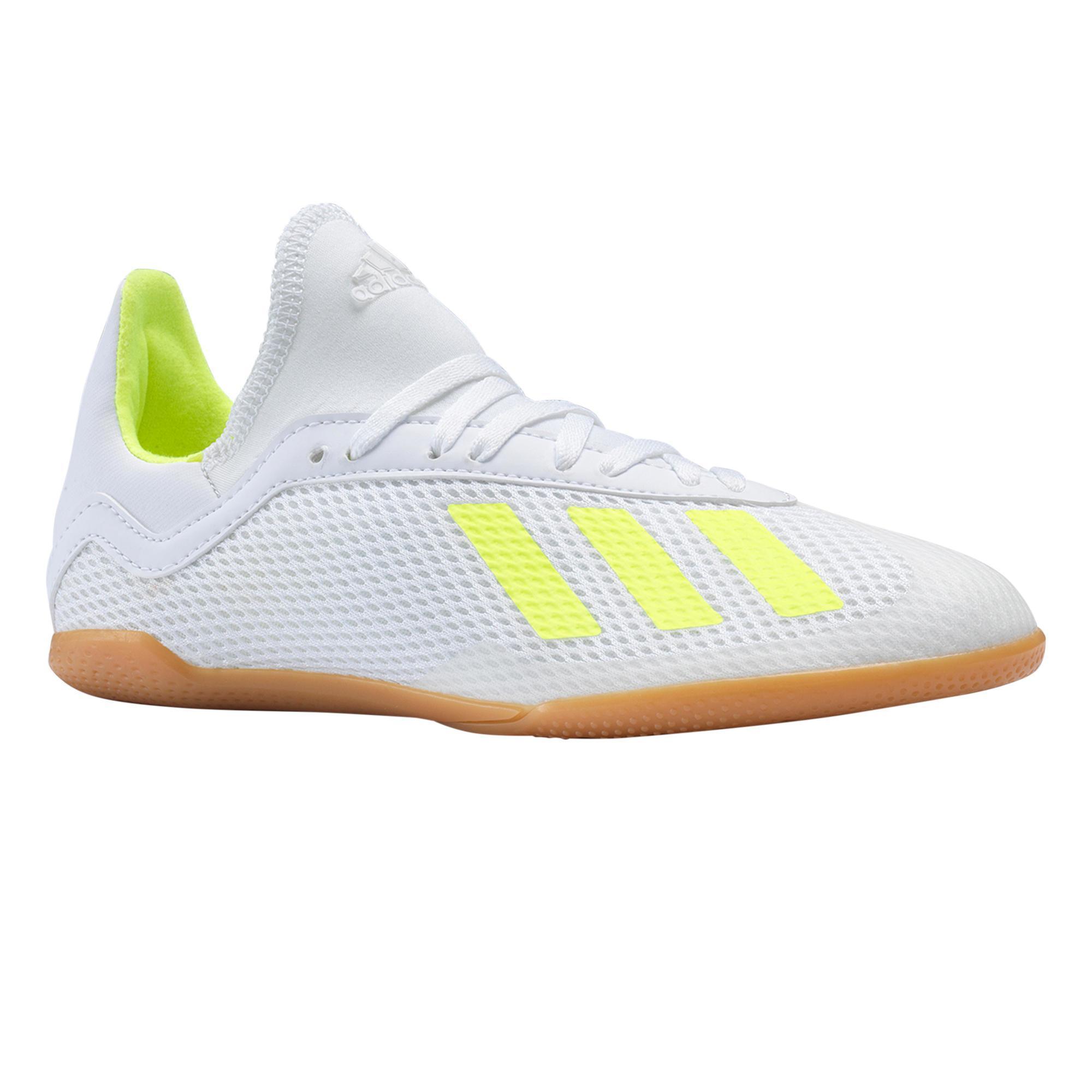 Adidas Zaalvoetbalschoenen kind X Tango 19.3 IC wit/geel