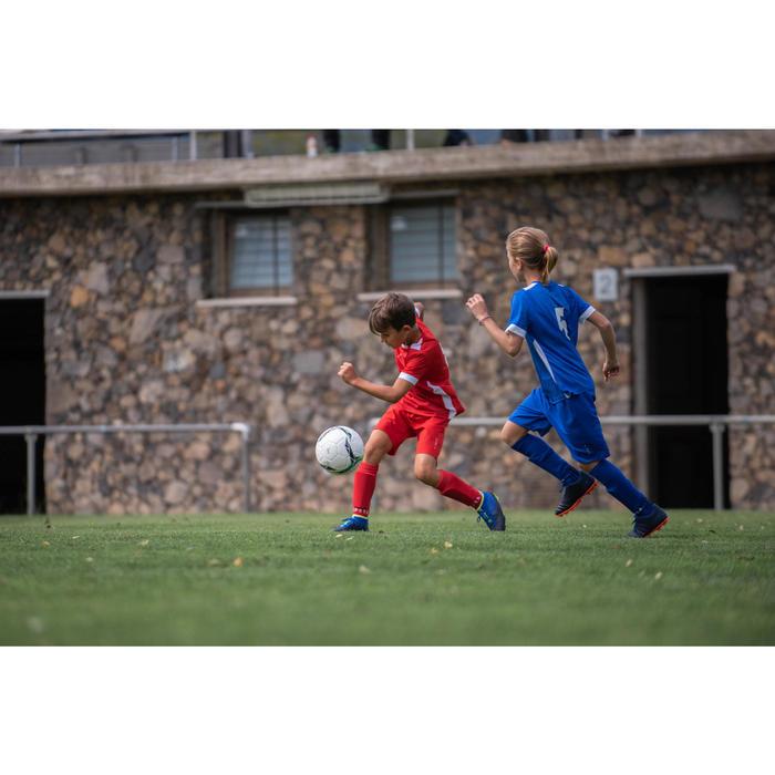 Fußballschuhe Multinocken Agility 500 Mid MG Kinder grau/blau