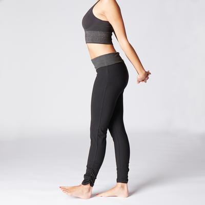 Leggings Premamá ecodiseñado Yoga negro