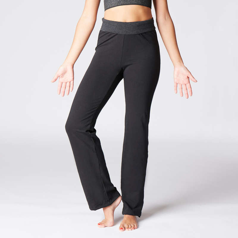 WOMAN YOGA APPAREL Clothing - Women's Gentle Yoga Bottoms DOMYOS - Bottoms