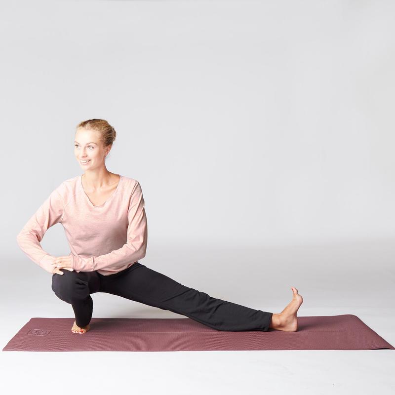 Women's Gentle Yoga Organic Cotton Bottoms - Black/Grey