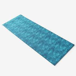 TAPIS YOGA CONFORT 8 MM BLEU JUNGLE