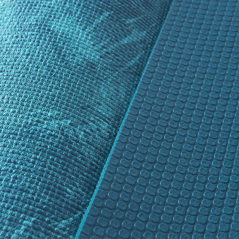 Comfort Yoga Mat 8 mm - Blue Jungle