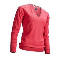 Golf Pullover Damen rosa/erdbeere meliert