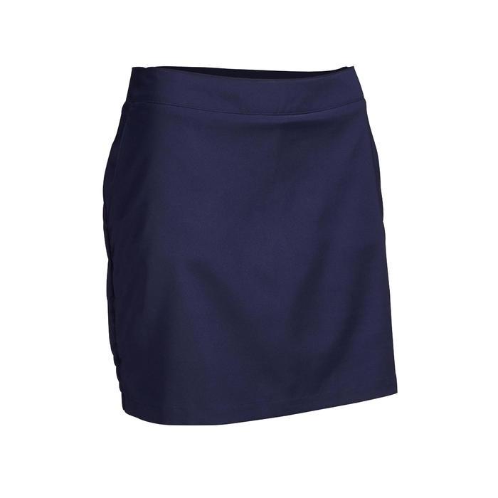 Shortrokje voor golf dames warm weer marineblauw
