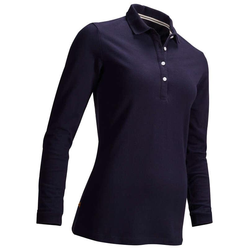 [EN] WOMEN GOLF PULL AND LS POLO MILD WEATHER Imbracaminte - Bluză Polo Golf Damă  INESIS - Imbracaminte