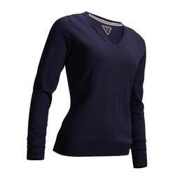 Golf Pullover Damen marineblau