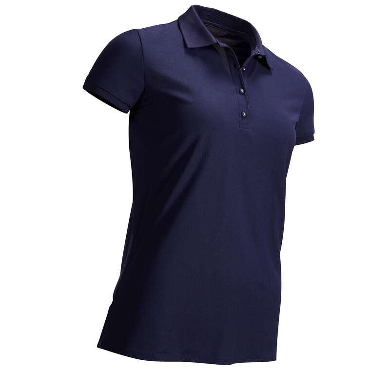 ABBIGLIAMENTO GOLF DONNA TEMPO CALDO Golf - Polo golf donna blu INESIS - Abbigliamento e scarpe golf