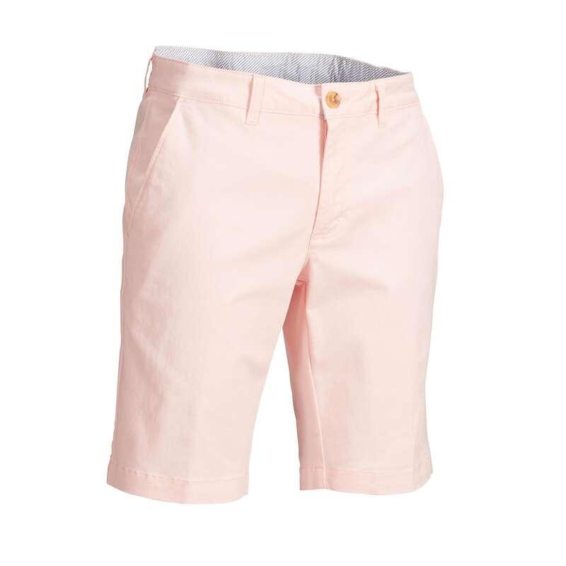MENS MILD WEATHER GOLF CLOTHING Golf - Men's Golf Shorts - Pink INESIS - Golf Clothing