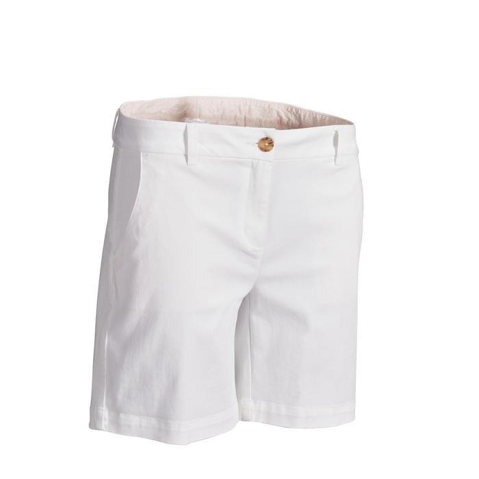 Golf Bermuda Shorts Damen weiß