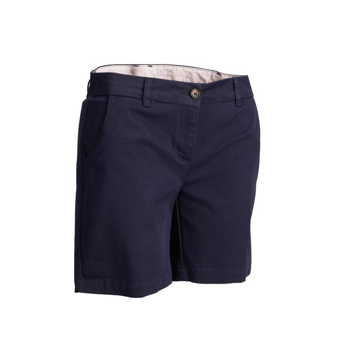 Golf Shorts Damen marineblau