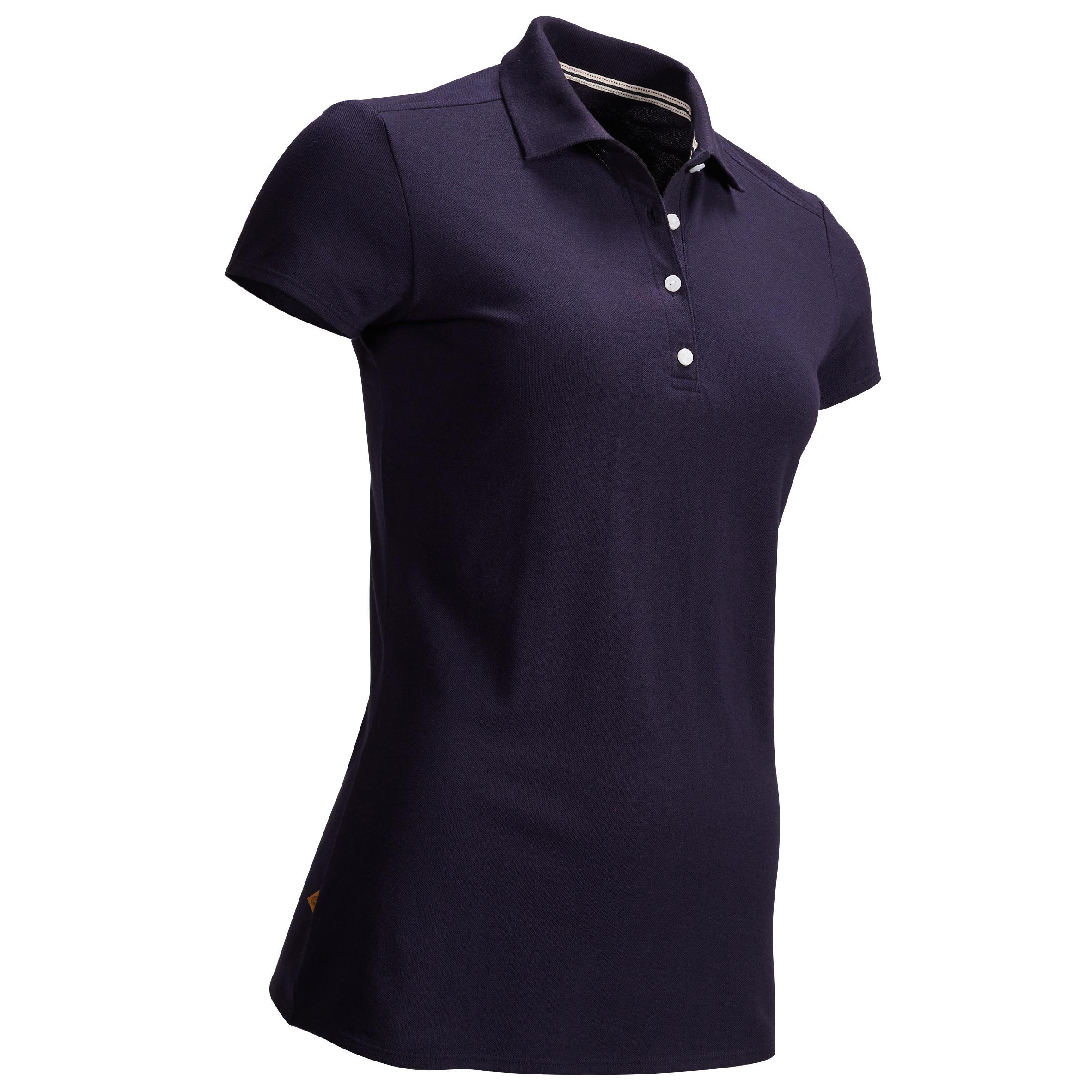 Inesis Golfpolo voor dames korte mouwen zacht weer kopen? Leest dit eerst: Golfkleding Golfpolo's met korting