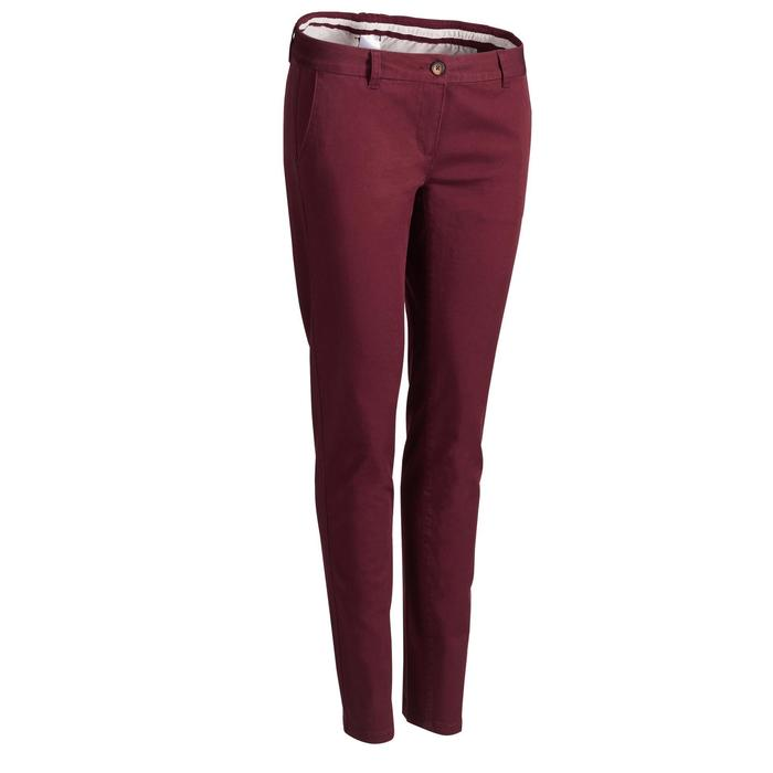 Golfhose Damen bordeaux