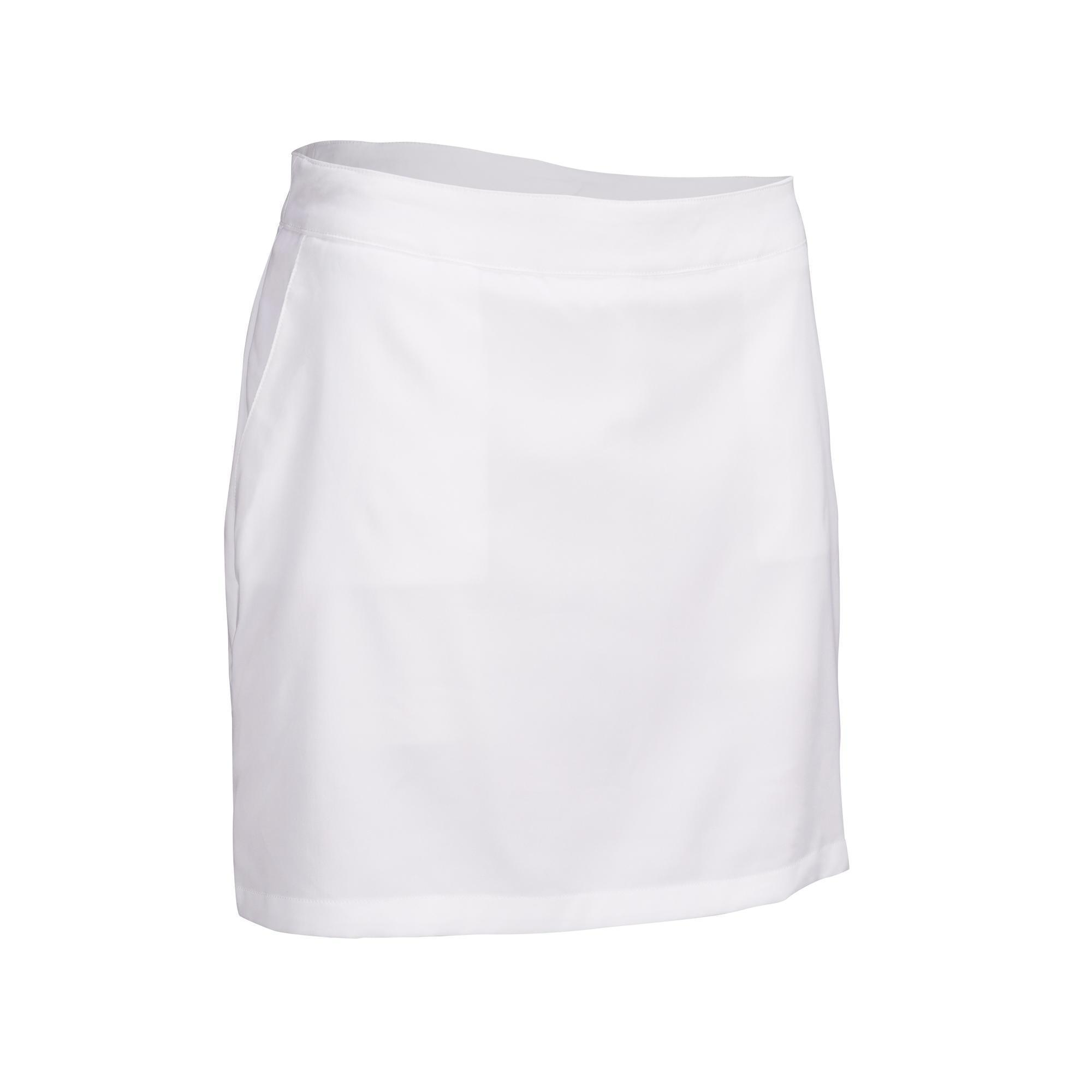 best quality hot product newest - JUPE SHORT GOLF FEMME TEMPS CHAUD BLANCHE